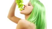zelené vlasy