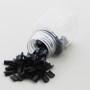 keratin prodlužování vlasů nehtíky černý