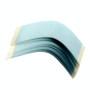 Lepicí páska na paruky zahnuté modré