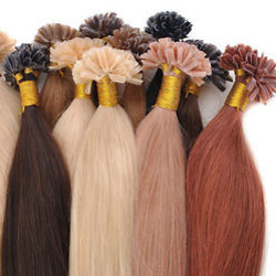 Praminky vlasů keratin prodlužování vlasů