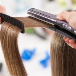 přípravky na žehlení vlasů