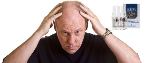 padání vlasů léky