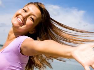 vlasy a slunce