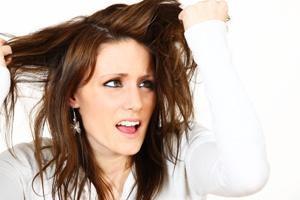 Jemné a mastné vlasy
