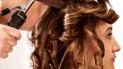 žehlení vlasů